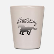 Cute Ford mustang Shot Glass