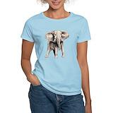 Elephant Women's Light T-Shirt