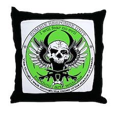 Zombie Response Unit Throw Pillow