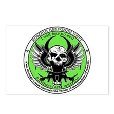Zombie Response Unit Postcards (Package of 8)