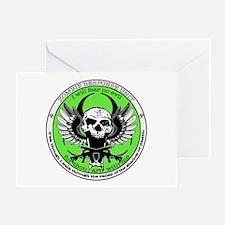Zombie Response Unit Greeting Card