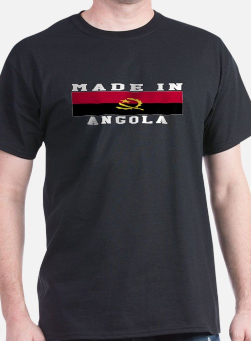 Angola Made In T-Shirt