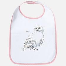 Snowy Owl Bird Bib