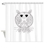 emma walters memories.owl. Shower Curtain