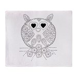 emma walters memories.owl. Throw Blanket