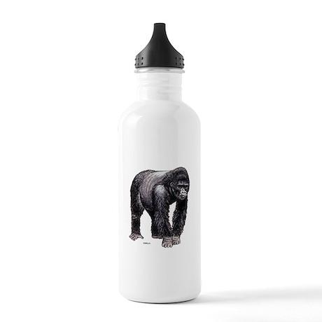 Gorilla Ape Animal Stainless Water Bottle 1.0L