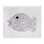 emma walters memories.fish. Throw Blanket