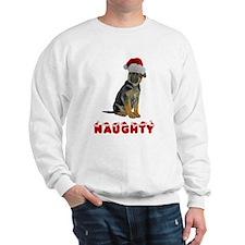 Naughty German Shepherd Sweatshirt