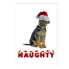 Naughty German Shepherd Postcards (Package of 8)