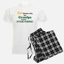 Grandpa Knows Everything Pajamas