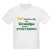 Grandpa Knows Everything T-Shirt