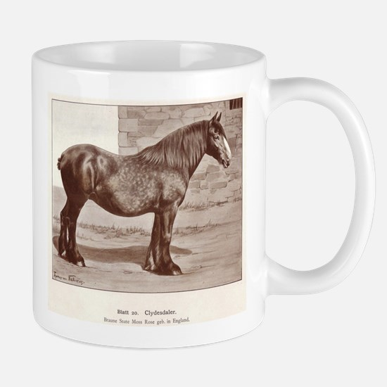 Clydesdale Drawing Mug