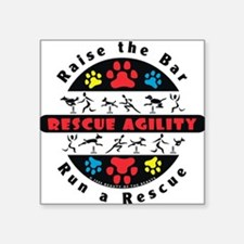 Rescue Agility - Raise Rectangle Sticker