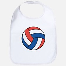 Red, White and Blue Volleyball Bib