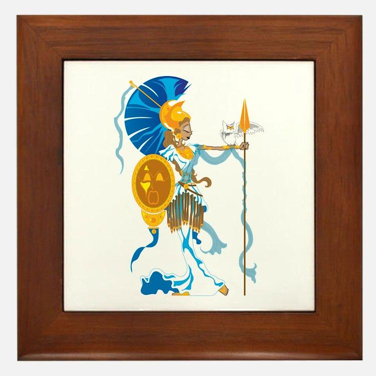 Athena Framed Tile
