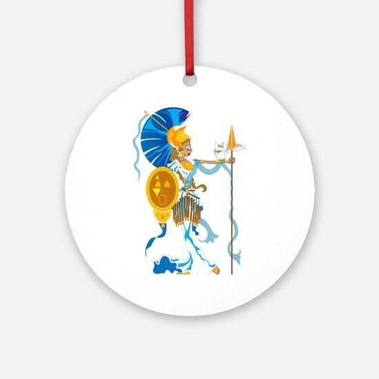 Athena Ornament (Round)