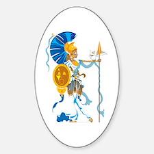 Athena Sticker (Oval)