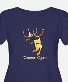 Drama Queen Ladies Plus Size T-Shirt