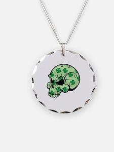 Irish Lucky Skull Necklace