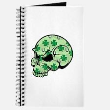 Irish Lucky Skull Journal