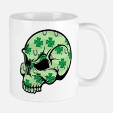 Irish Lucky Skull Mug