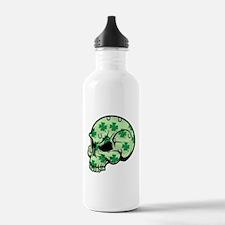 Irish Lucky Skull Water Bottle
