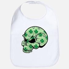 Irish Lucky Skull Bib