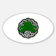 Shamrock Sticker (Oval)