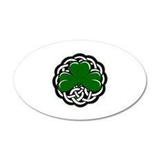 Shamrock 22x14 Oval Wall Peel