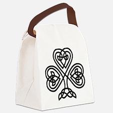 Celtic Shamrock Canvas Lunch Bag