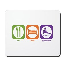 Eat Sleep Gymnastics Mousepad