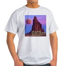 Red Moon at Shiprock, NM T-Shirt