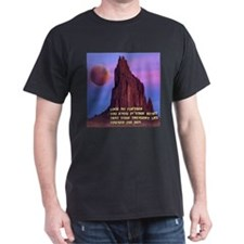 Red Moon at Shiprock, NM T-Shirt