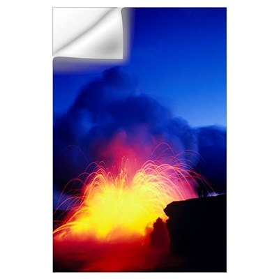 Hawaii, Big Island, Hawaii Volcanoes National Park Wall Decal