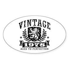 Vintage 1978 Decal