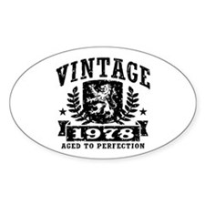 Vintage 1978 Stickers