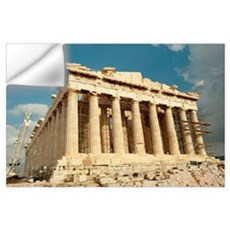 Ruins of columns, Acropolis, Parthenon, Athens, At Wall Decal