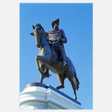 Sam Houston pointing towards San Jacinto, Hermann