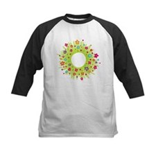 Spring Flower Wreath Baseball Jersey
