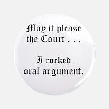 "rocked argument 3.5"" Button (100 pack)"