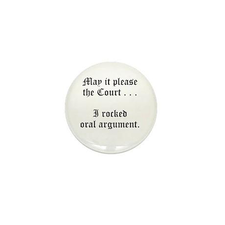 rocked argument Mini Button (10 pack)