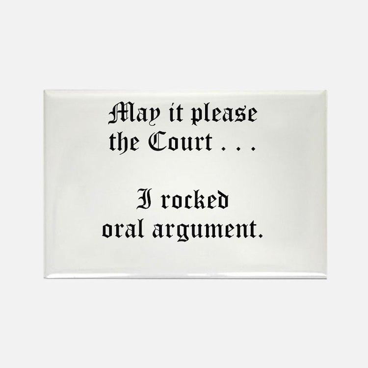 rocked argument Rectangle Magnet (10 pack)
