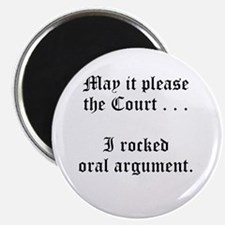 "rocked argument 2.25"" Magnet (10 pack)"