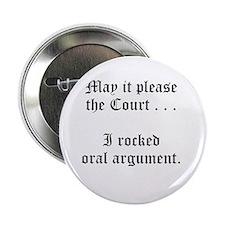 "rocked argument 2.25"" Button (10 pack)"