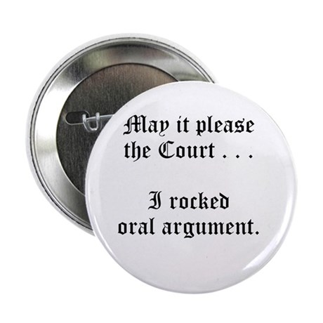 "rocked argument 2.25"" Button"
