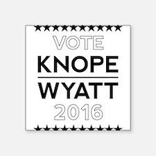 Knope/Wyatt 2016 Campaign Sticker