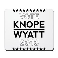 Knope/Wyatt 2016 Campaign Mousepad