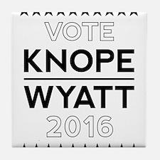 Knope/Wyatt 2016 Campaign Tile Coaster