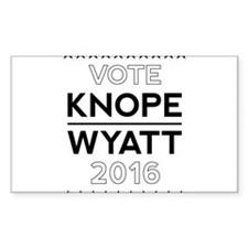 Knope/Wyatt 2016 Campaign Decal