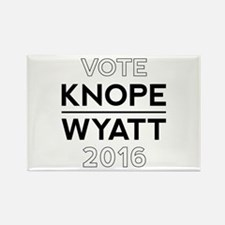 Knope/Wyatt 2016 Campaign Rectangle Magnet